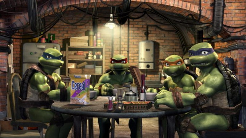 《忍者神龟》要拍新CG动画电影 将抛弃脏乱差风格