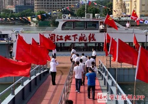 """福州闽江""""地下航线""""再起航!这是水底下的航线吗?"""
