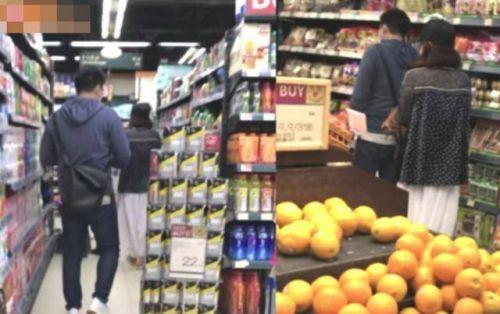 郭晶晶霍启刚逛平价超市吃平价餐厅 超接地气