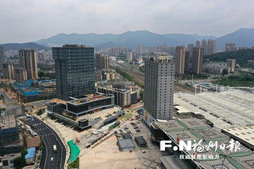"""福州火車站""""舒筋展骨"""" 地下交通樞紐2024年整體建成"""