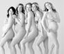 全裸孕照 展示新生命带到世上的奇迹与美丽