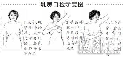 七个问题认识乳腺癌 定期乳房自检可有效预防