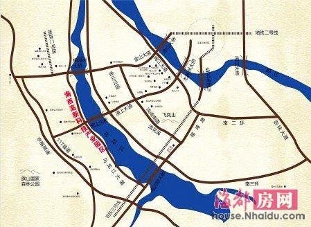 南屿高新区4期规划图